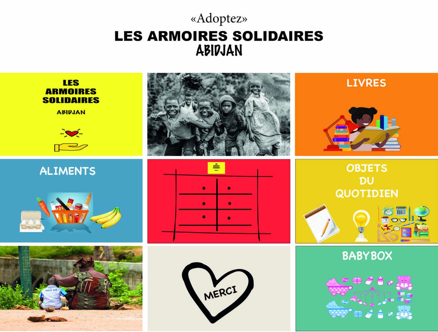 Les Armoires Solidaires Abidjan