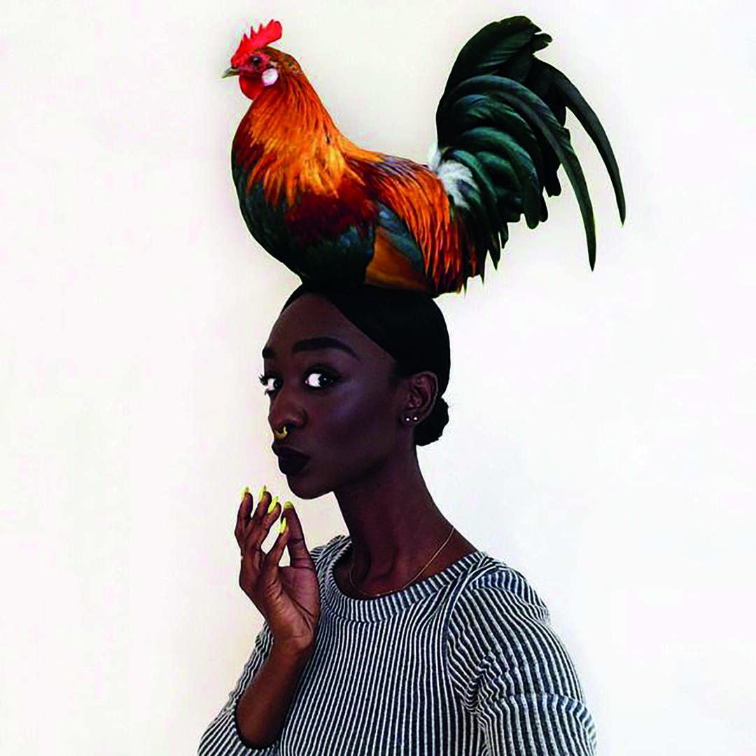 Loza Maléombho : quand le selfie devient une œuvre d'art…