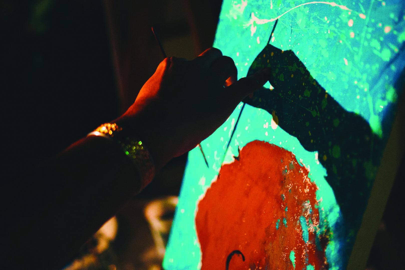 Paint & Sip : créer et trinquer !