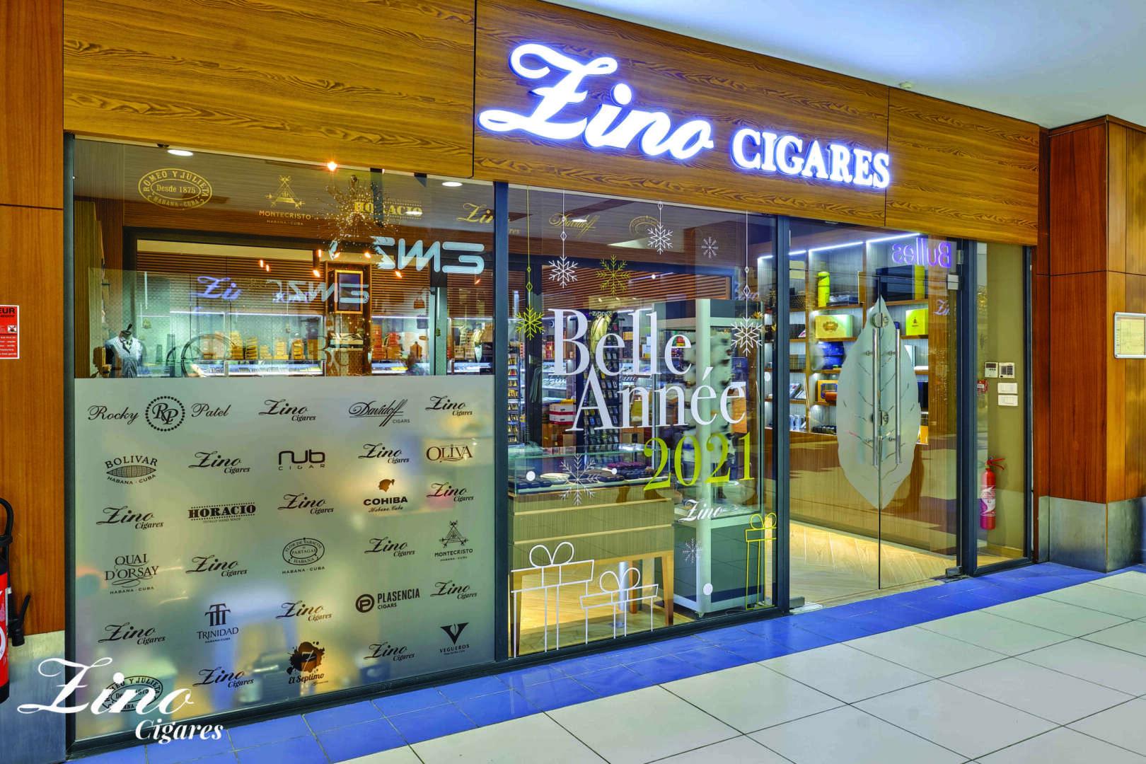 La Bonne info: Zino ouvre 2 nouvelles caves à cigares à Abidjan !