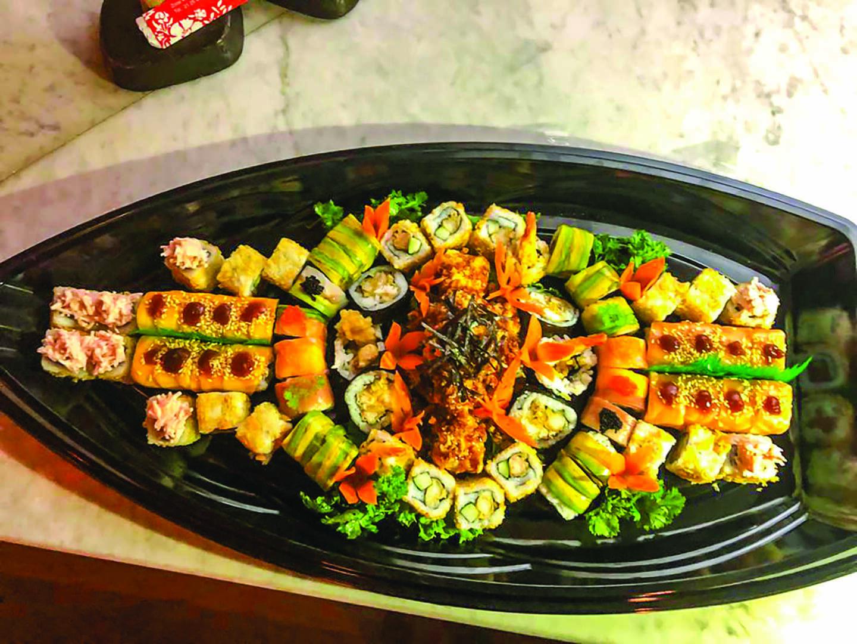 À midi… c'est Sushi & more au Kaiten !